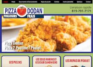 Pizza Dodan - Estrie / Canton de l'est, Sherbrooke
