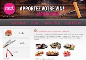 Restaurant Sushi Inc - Estrie / Canton de l'est, Sherbrooke (Rock Forest–Saint-Élie–Deauville)
